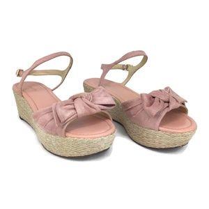 Liz Claiborne BROOKLYN Pink Women's Wedge Sandals